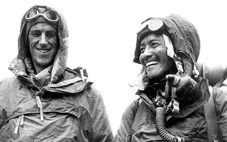 Edmund Hillary & Tenzing Norgay - First Mt. Everest Climber